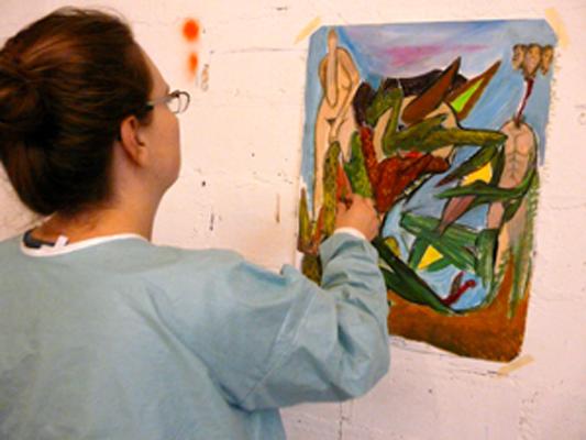 Atelier d'expression picturale