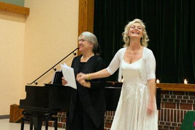 Récital, Claudine Chériez mezzo-soprano