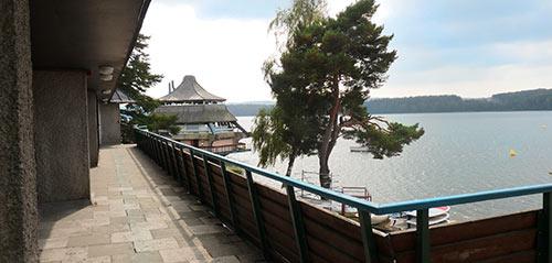 Le lac des Settons, lieu du stage Chant-Feldenkrais