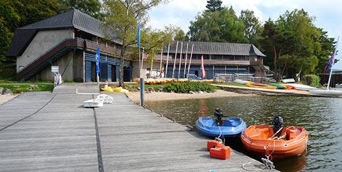 Base de loisir du lac des Settons, lieu du stage Chant-Feldenkrais