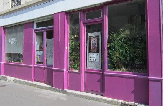 L'Atelier du Verbe, 17 rue Gassendi, Paris 75014